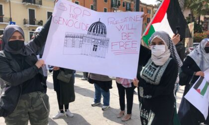 Manifestazione pro Palestina ad Imperia