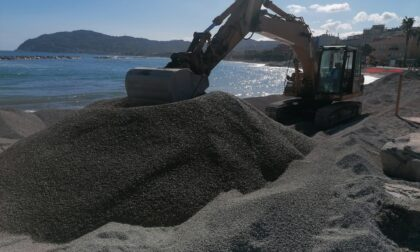 Iniziato il ripascimento delle spiagge libere a San Bartolomeo