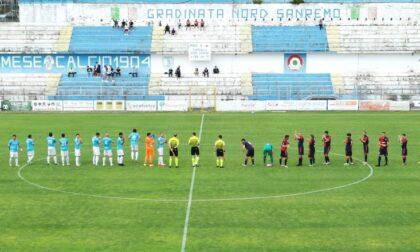 Sanremese Calcio vince il derby ligure in casa col Sestri 2-1