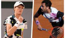 Roland Garros - Match fratricida Mager-Sinner mercoledì. E in campo anche Fognini