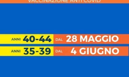 Prenotazione vaccini per la fascia d'età 40-44 anni, ecco come fare
