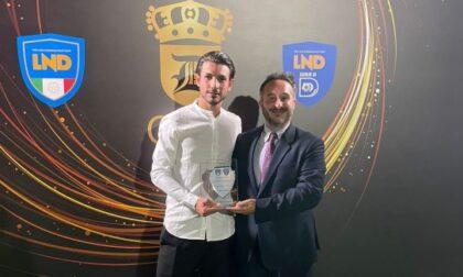 Andrea Demontis miglior centrocampista della Serie D
