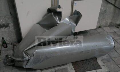 Mezzo pesante distrugge impianto di areazione della galleria Scoglietti a Ventimiglia