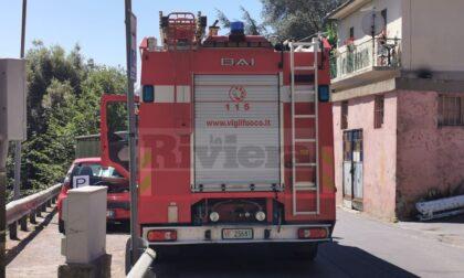 Grave un uomo caduto in campagna a Ventimiglia