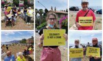 A Ventimiglia un flash mob di Amnesty per la Giornata mondiale del rifugiato