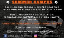 Al via Virtus Sanremo summer campus
