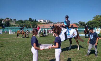 Ignace Philips vince il Gran Premio di equitazione al Campo Ippico Sanremo