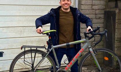 Da Bristol a Imperia in bici per sostenere la Casa Famiglia Pollicino
