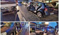 Camion si schianta contro auto sull'Aurelia a Bordighera, ferita una donna