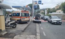Investita sulle strisce mentre attraversa in corso Marconi a Sanremo