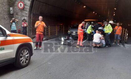 Bimbo investito da scooter in codice rosso al Gaslini