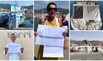 Pescatori di Sanremo in piazza per salvare il comparto dalla normativa UE
