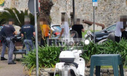 Controlli anti assembramento: polizia identifica comitiva di ragazzini a Sanremo