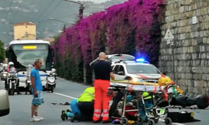 Incidente in scooter a Ventimiglia, 65enne grave al Santa Corona