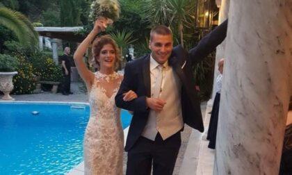 Auguri agli sposi Simone e Monica