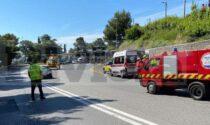 Incidente in autostrada, allertato l'elisoccorso Grifo