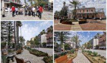 Inaugurata la nuova piazza della Stazione del Comune di Bordighera