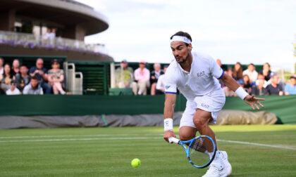 Fabio Fognini cede a Rublev a Wimbledon