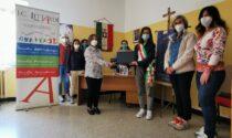 Donati 5 laptop all'istituto comprensivo Littardi