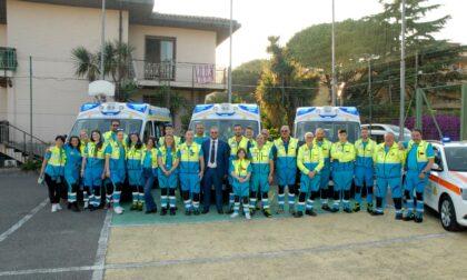 Inaugurate 3 Nuove Ambulanze di Rianimazione della Croce Azzurra Misericordia di Vallecrosia