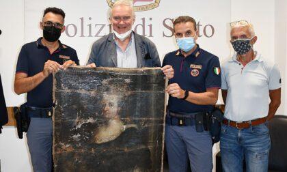 Recuperata dalla polizia una tela rubata da Palazzo Borea D'Olmo di Sanremo