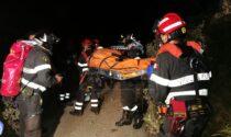 Precipita con l'auto nel dirupo a Ventimiglia, grave un uomo