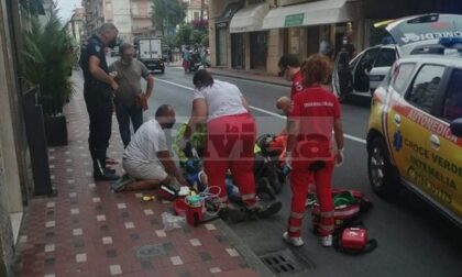 Agente rianima infartuato per strada grazie a manovre salvavita e defibrillatore pubblico