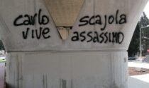 """G8: """"Carlo vive, Scajola assassino"""": l'ex ministro insultato con un murales a Imperia"""