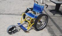 Servizio in spiaggia per persone disabili a Ospedaletti