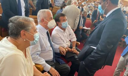 Assemblea a Roma per il sindaco di Imperia e vice presidente Anci Claudio Scajola