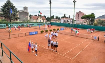 Oggi la finale europea under 14 di tennis a Sanremo