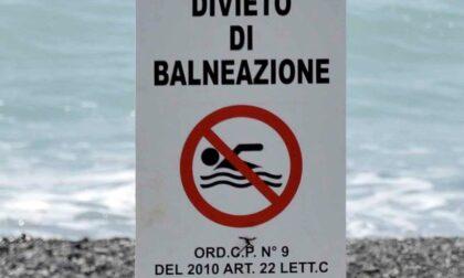 Valori fuori dalla norma, scatta il divieto di balneazione sul litorale di Taggia