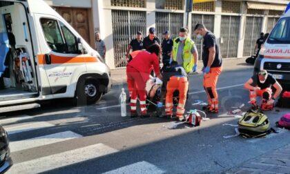 Morta la donna investita da uno scooter sabato a San Bartolomeo al mare