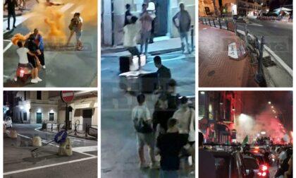 Gli Azzurri in finale agli Europei: quando il tifo diventa vandalismo, Bordighera a soqquadro