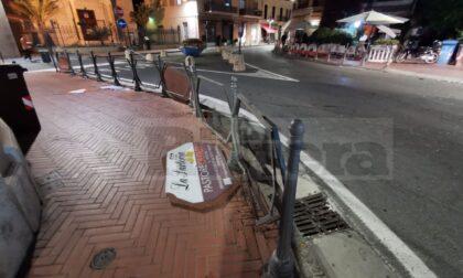 Individuato uno degli autori degli atti vandalici a Bordighera per la vittoria dell'Italia
