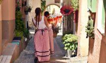 Il centro storico di Bordighera si accende per i festeggiamenti della Maddalena