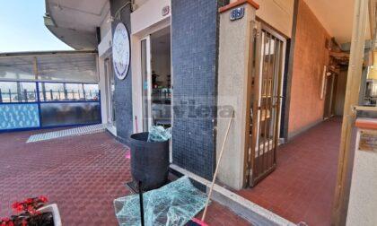 Furto con spaccata nella nuova gelateria di via Dante a Ventimiglia