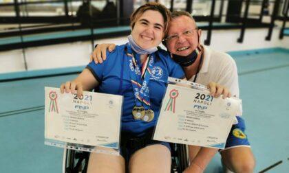 4 medaglie per la nuotatrice Giorgia Amodeo