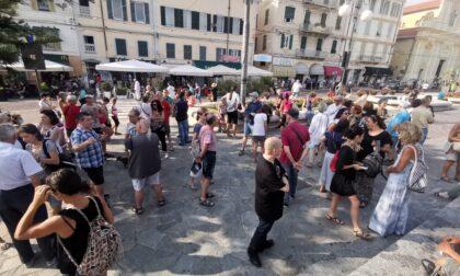 I No Green Pass manifestano a Sanremo e Imperia
