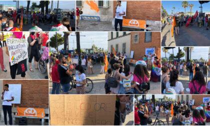 """Flash mob per Ddl Zan """"Fermare discriminazioni che insanguinano le strade"""""""