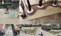 Ecco la nuova Piazza Maglione dopo la messa in sicurezza