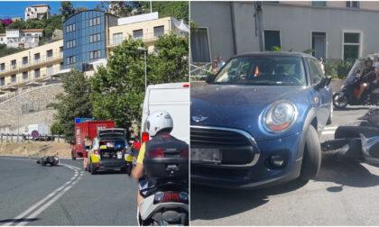 Altri due incidenti in pochi minuti a Sanremo