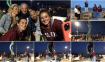 Inaugurata la statua della Sirenetta sul molo di Oneglia
