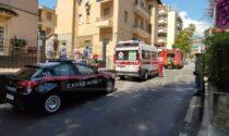 Incendio in una cucina di corso Inglesi a Sanremo, intervengono i vigili del fuoco
