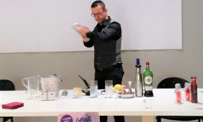 Lavanda della Riviera protagonista dei cocktail del barman Antonio Mandica