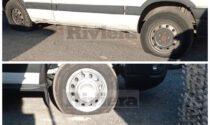 Raid vandalico nell'ex calzaturificio Taverna, tagliate le gomme a diversi furgoncini