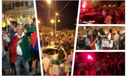 La folle notte a Sanremo e Imperia
