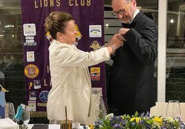 Nadia Pollarolo nuovo presidente del Lions Club La Torre
