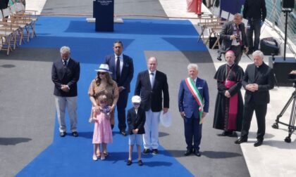 Con una sontuosa cerimonia il Principe Alberto inaugura il nuovo porto di Monaco a Ventimiglia