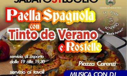Onlus Nicola Ferrari, sabato serata Paella e Tinto de Verano per raccogliere fondi per la ricerca